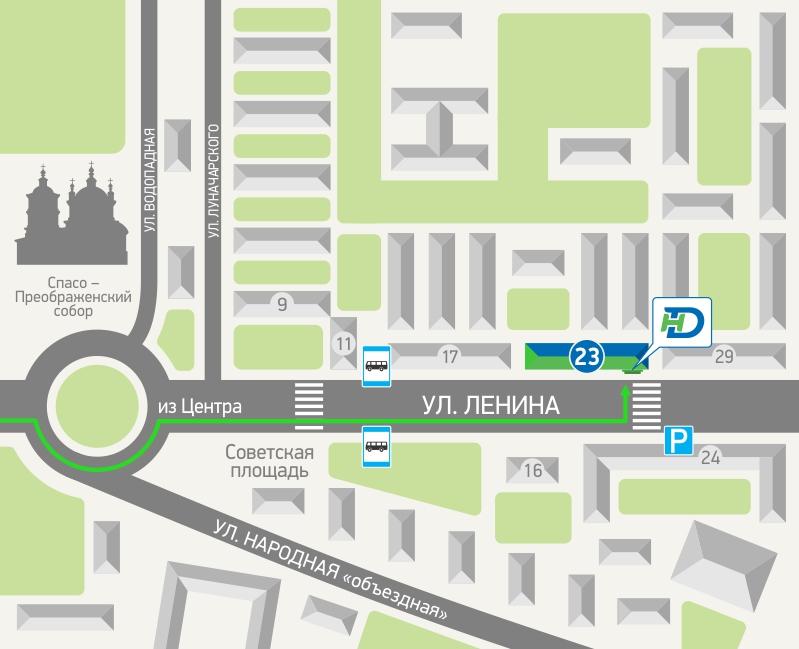 Интерактивная карта